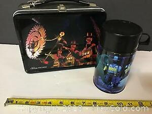 Tim Burton Nightmare before Xmas lunchbox