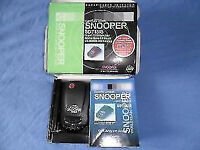 speed camera detector snooper sd715 is in box like new dont get nicked