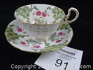 Aynsley Cherry Blossom Tree Teacup
