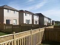 Fences and Decks installation, repairs and post setting