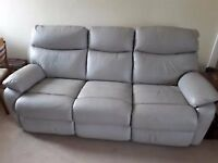 3 Seater Sofa - recliner - free