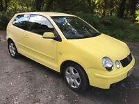 Polo 1.4 sport yellow