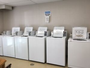 COMMERCIAL ELECTRIC COIN OPERATED DRYERS & WASHERS