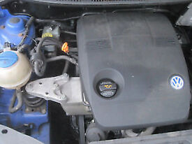 POLO 1.2 2003 YEAR GEARBOX GSH breaking for parts in GATWICK AREA