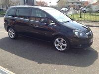 07 PLATE ZAFIRA SRI XP140 7SEATER sale/swap for van/smaller car