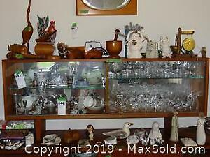 Glasses Tea Cups Crystal And More B