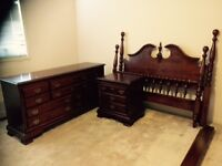 Solid Cherrywood Bedroom Set - PICKED UP FRIDAY BEFORE 10 pm