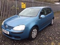 VW Golf 1.6 fsi. Full service history. Recent MOT, Service and Tyres. Great, clean condition