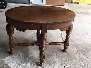 Antique Oval Coffee Table - Cat A