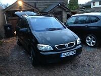 Excellent ZAFIRA GREAT FAMILY CAR - 7 seater, low mileage - no expense spared