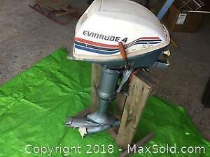 4 HP Evinrude Boat Motor