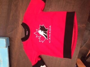 12 month team Canada jersey