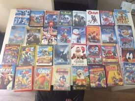 Kids DVD's. Excellent condition from age 5-9 From ICE Age to Polar Express, Lorax, Happy Feet etc