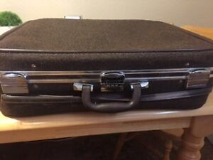 Vintage Hard Shell Skyway Suitcase