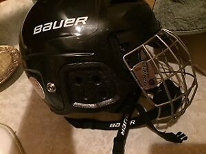 casque hockey gardien