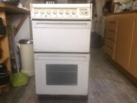 Creda Dual Fuel Double Oven freestanding cooker 50cm wide