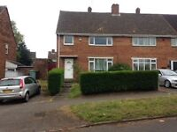 Newly Renovated 3 Bedroom Semi Detached House In Walsall Available To Let Immediately
