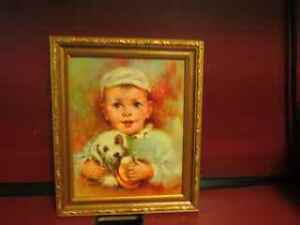 "VINTAGE WINDE FINE PRINTS BY KROGER NO. 326 TITLED ""BABY"""