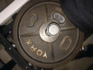 *Reduced*Gym equipment: York Calibrated Olympic plates & GHR/GHD