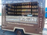 MR SIMMS OLDE SWEET SHOPPE TRAILER BUSINESS FOR SALE