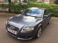 Audi A4 2.0 TDI TDV S LINE***NEWER SHAPE**NAVIGATION**FULL AUDI SERVICE HISTROY***IMMACULATE