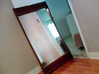 Beautiful Persian Walnut Mirror for Sale