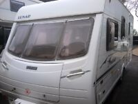 LUNAR LEXON CS 4 berth fixed bed 2005 model