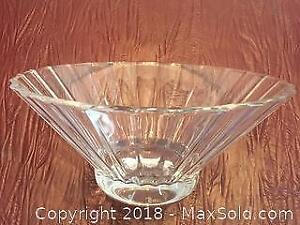 Villeroy Boch Crystal Glass Bowl
