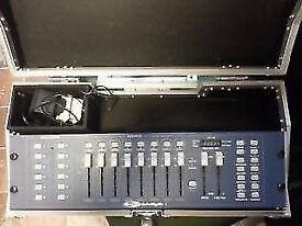 dj disco showtec dmx 8 channel controller