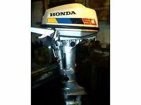 OUTBOARD MOTOR HONDA 4 STROKE 5HP ST/SH