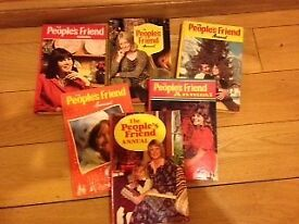Collection of People's Friend Annuals