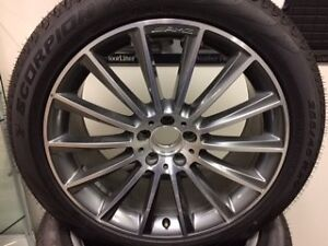 """MERCEDES-BENZ GLC 20"""" AMG RIMS AND TIRES"""