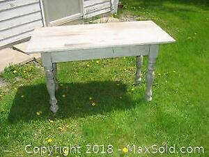 Antique Wooden Table A