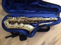 P Mauriat pmx Tenor Saxophone, Played twice! Like buying new from a shop!