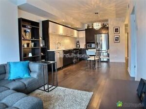 Luxurious 3 1/2  + office condo for rent