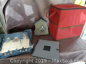 Christmas and scrapbook lot