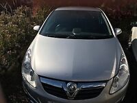 2009 Vauxhall Corsa 1.2 Club, Silver, AC, 3 Door, FSH and 12 Months MOT, Low Mileage