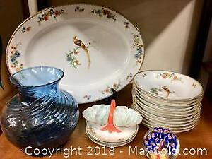 Lot of Czechoslovakian Dishes & Glass