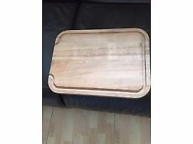 new thick heavy WOODEN chopping board