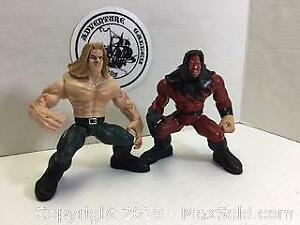 HHH and Kane WWE Wrestling Figures