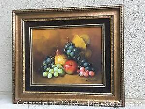 Vintage Oil on Canvas (Signed)