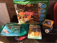 Hoselock Automatic Holiday watering system