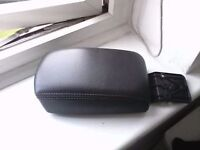 volvo v40 parts : s40 LEATHER ARM REST ( BLACK ), can post , PAYPAL ACCEPTED