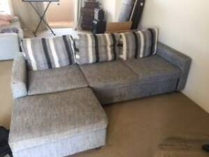 3 Seater Sofa with pull out bed and storage Caringbah Sutherland Area Preview