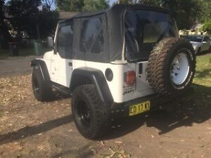 2000 Jeep Wrangler Convertible Rooty Hill Blacktown Area Preview