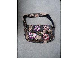Small sequin effect handbag £2