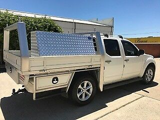 UTE TRAY (for Nissan Navara dual cab) with built in trundle tray
