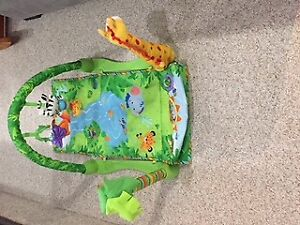 Fisher-Price Rainforest 1-2-3 Musical Gym (Playmat)