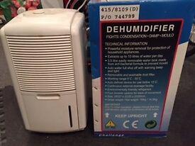 Challenge Dehumidifier 10 Litre (Brand New) still boxed