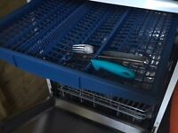 Bosch Series 6 Freestanding 60cm Dishwasher in White with top cutlery tray